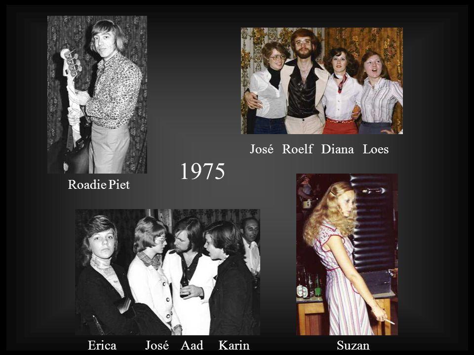 José Roelf Diana Loes 1975 Roadie Piet Erica José Aad Karin Suzan