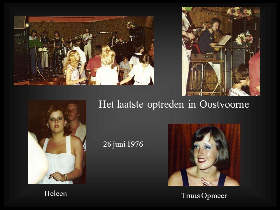 Het laatste optreden in Oostvoorne