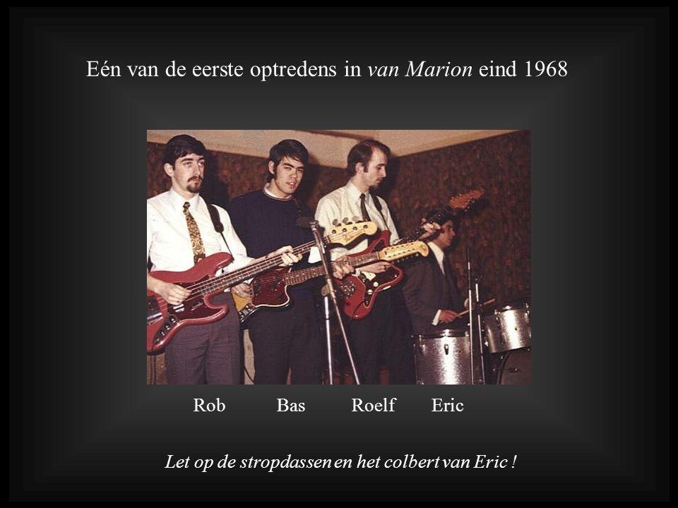 Eén van de eerste optredens in van Marion eind 1968