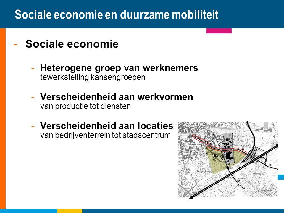 Sociale economie en duurzame mobiliteit