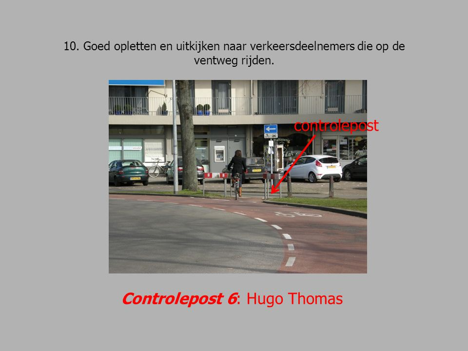 Controlepost 6: Hugo Thomas