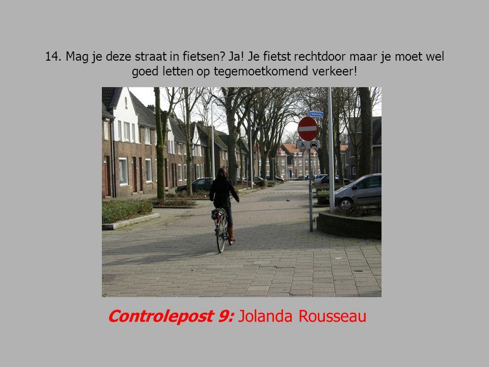 Controlepost 9: Jolanda Rousseau