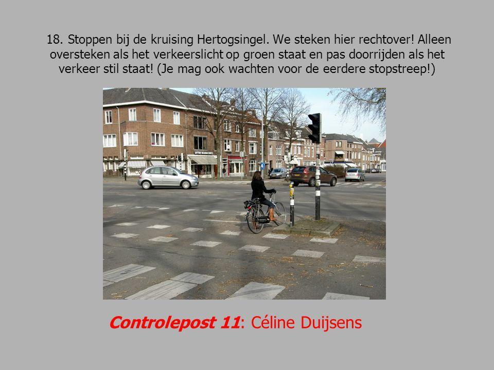 Controlepost 11: Céline Duijsens