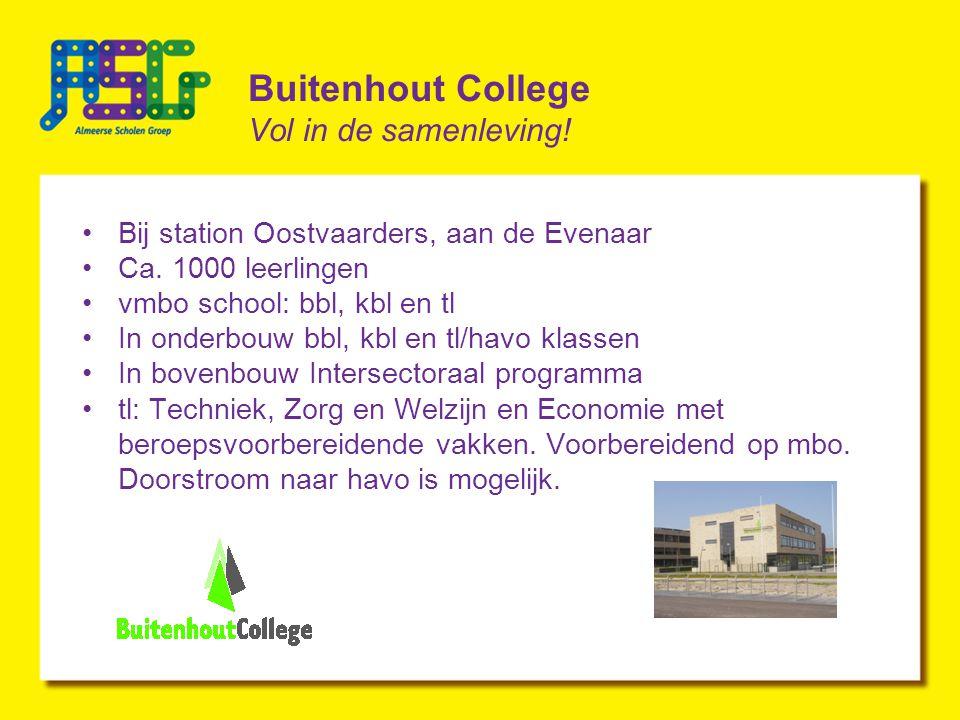 Buitenhout College Vol in de samenleving!
