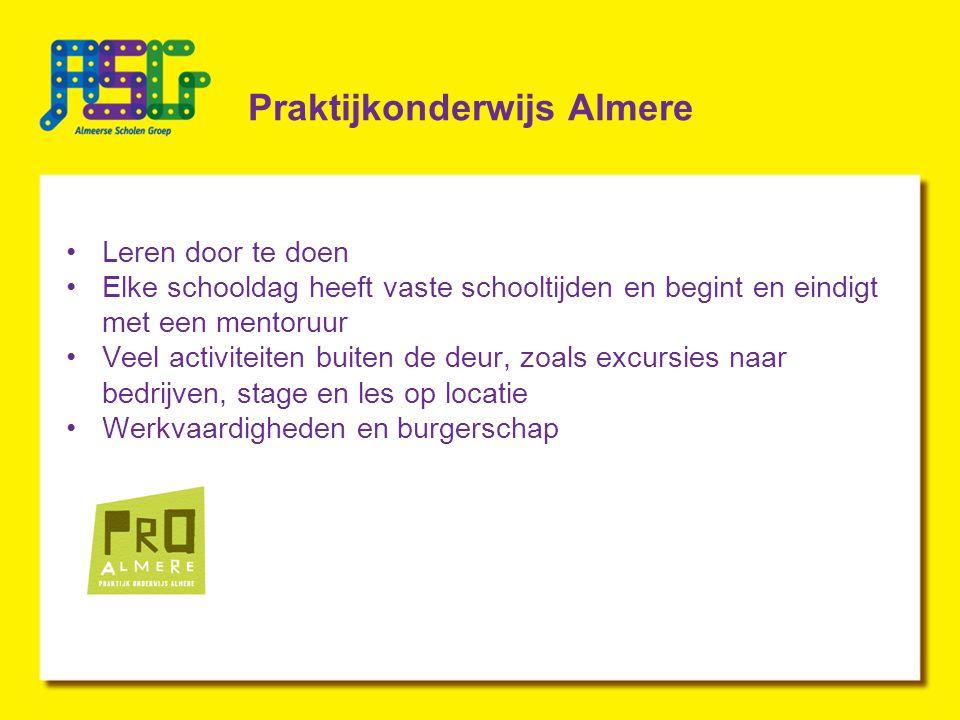 Praktijkonderwijs Almere