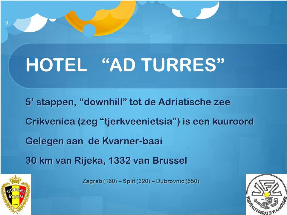 HOTEL AD TURRES 5' stappen, downhill tot de Adriatische zee