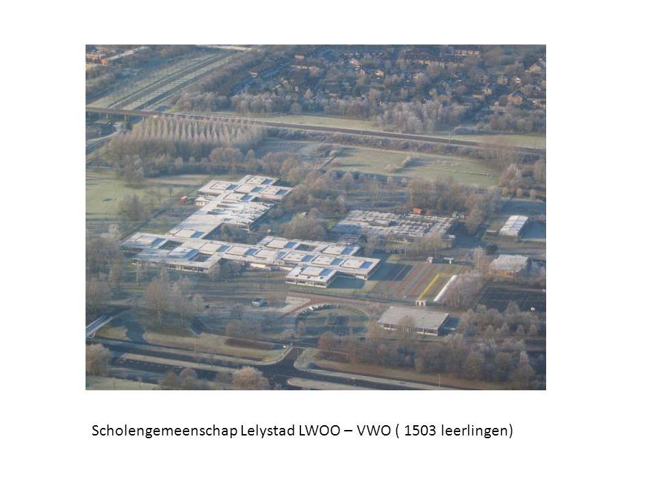 Scholengemeenschap Lelystad LWOO – VWO ( 1503 leerlingen)