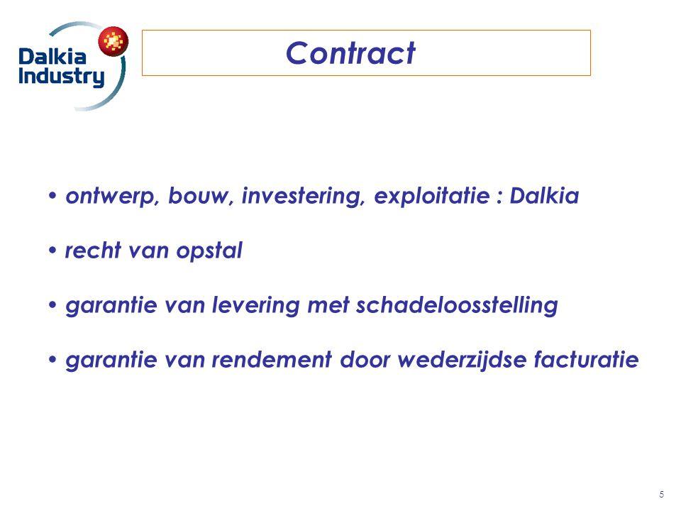 Contract ontwerp, bouw, investering, exploitatie : Dalkia