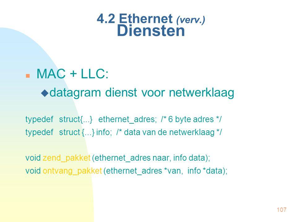 4.2 Ethernet (verv.) Diensten
