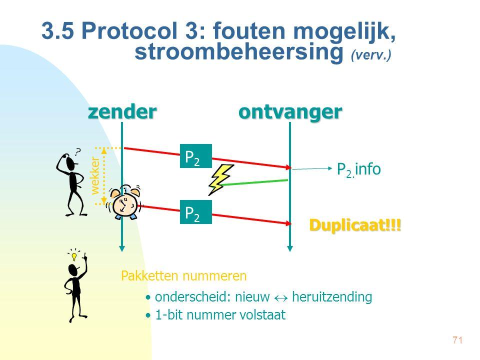 3.5 Protocol 3: fouten mogelijk, stroombeheersing (verv.)