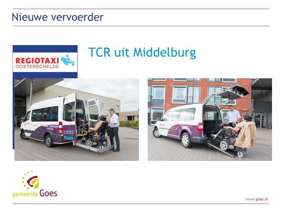 Nieuwe vervoerder TCR uit Middelburg