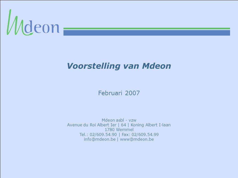Voorstelling van Mdeon