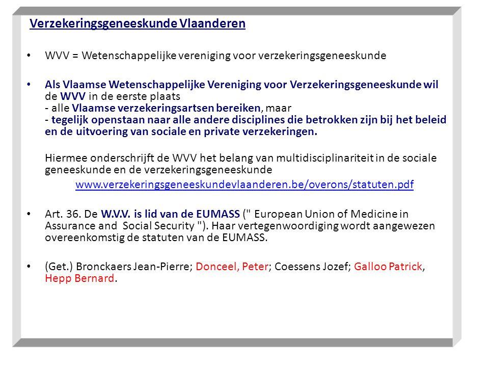 Verzekeringsgeneeskunde Vlaanderen