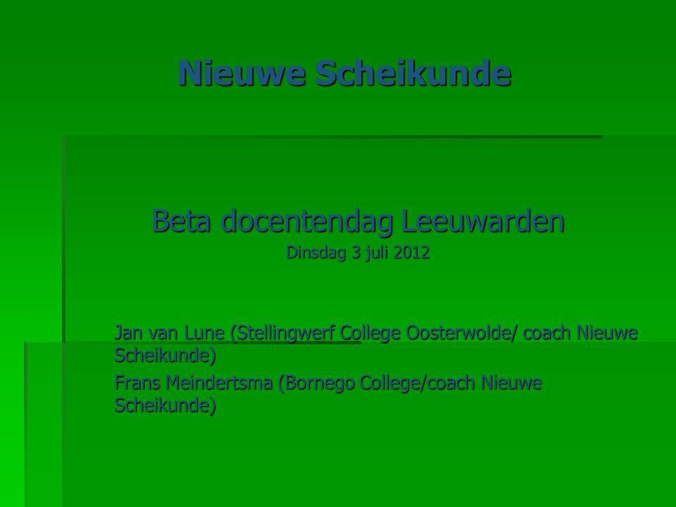 Beta docentendag Leeuwarden