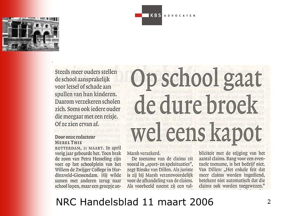 NRC Handelsblad 11 maart 2006