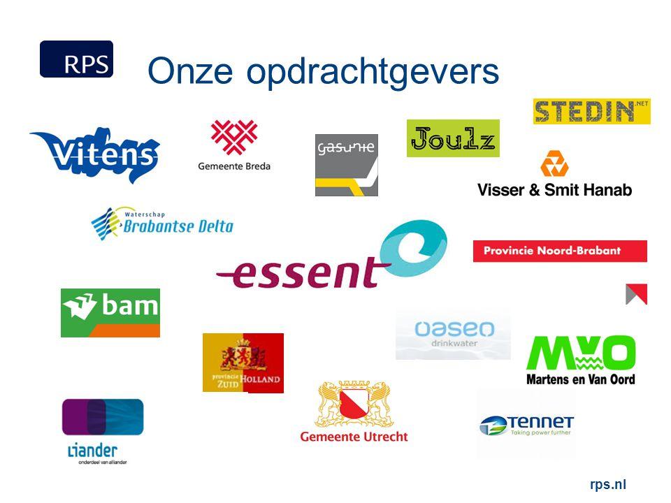 Onze opdrachtgevers rps.nl