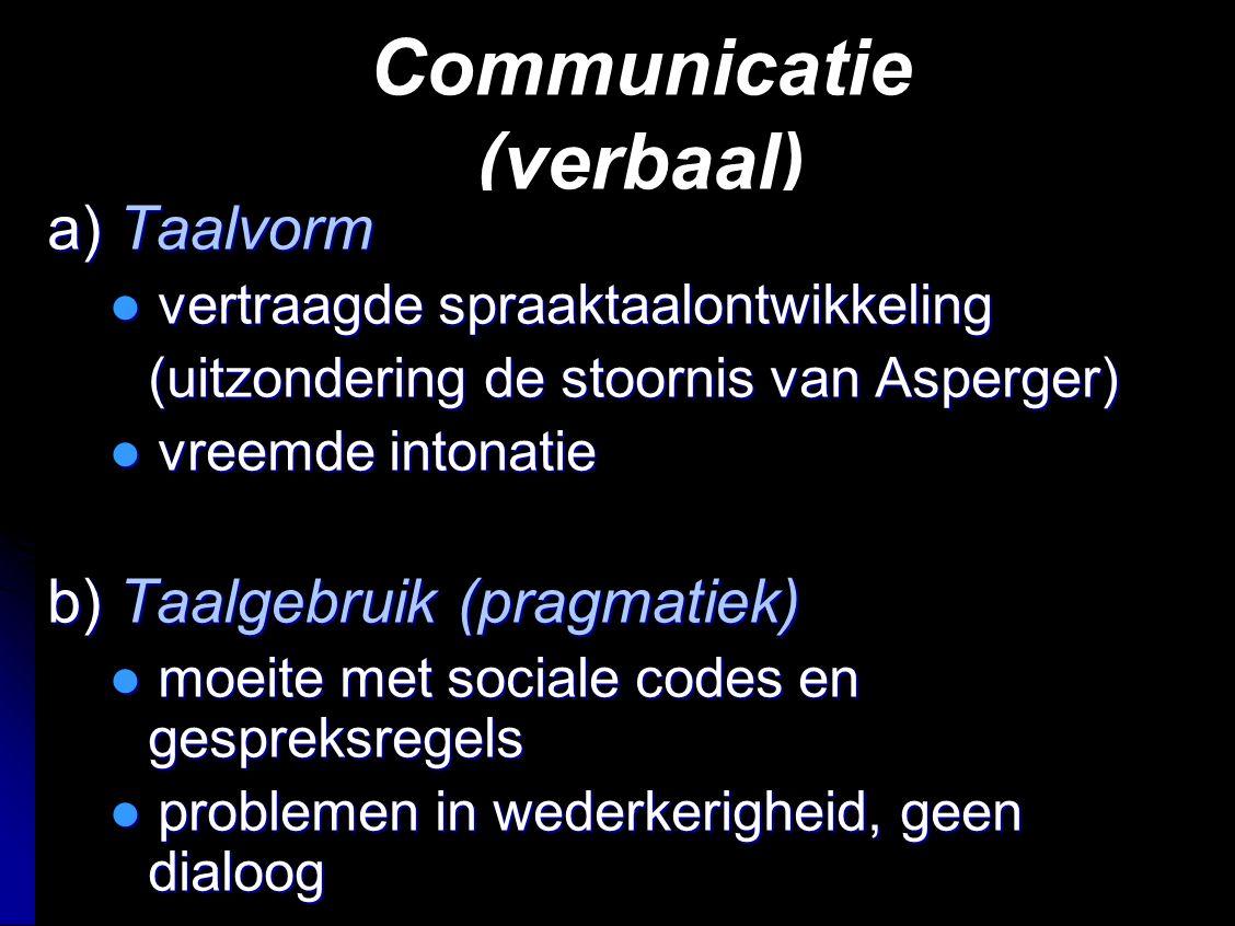 Communicatie (verbaal)