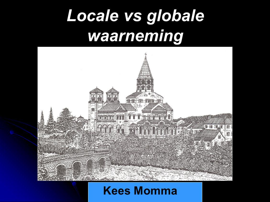 Locale vs globale waarneming
