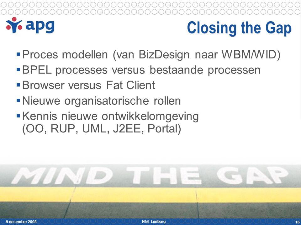 Migratie strategie Proces 1 Proces 2 Proces n-1 Proces n Workflow