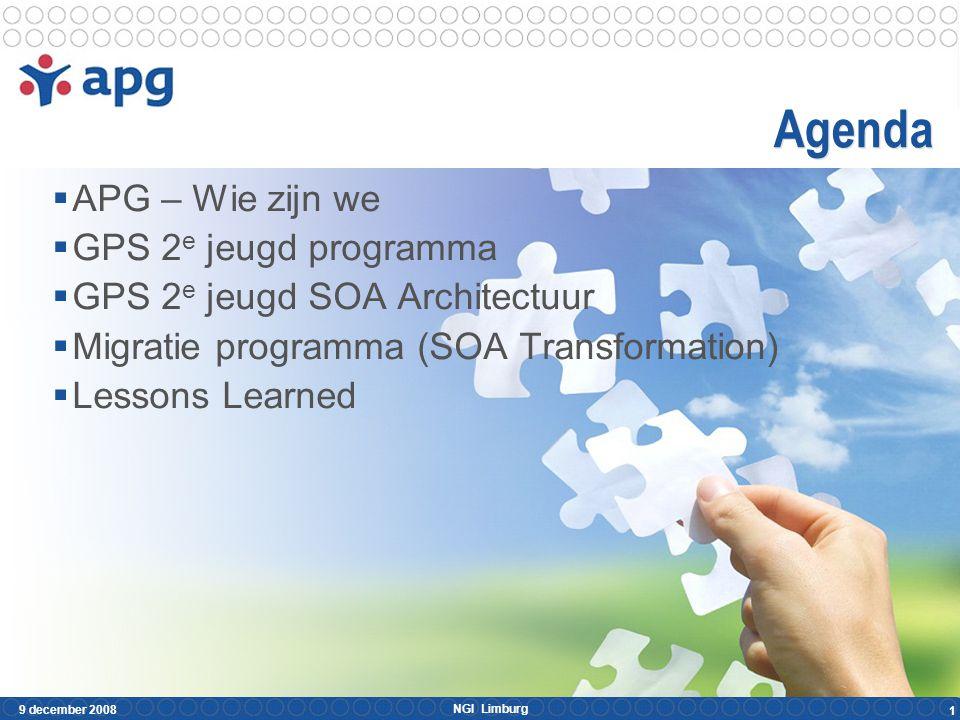 APG – Wie zijn we APG Groep bundeling van :