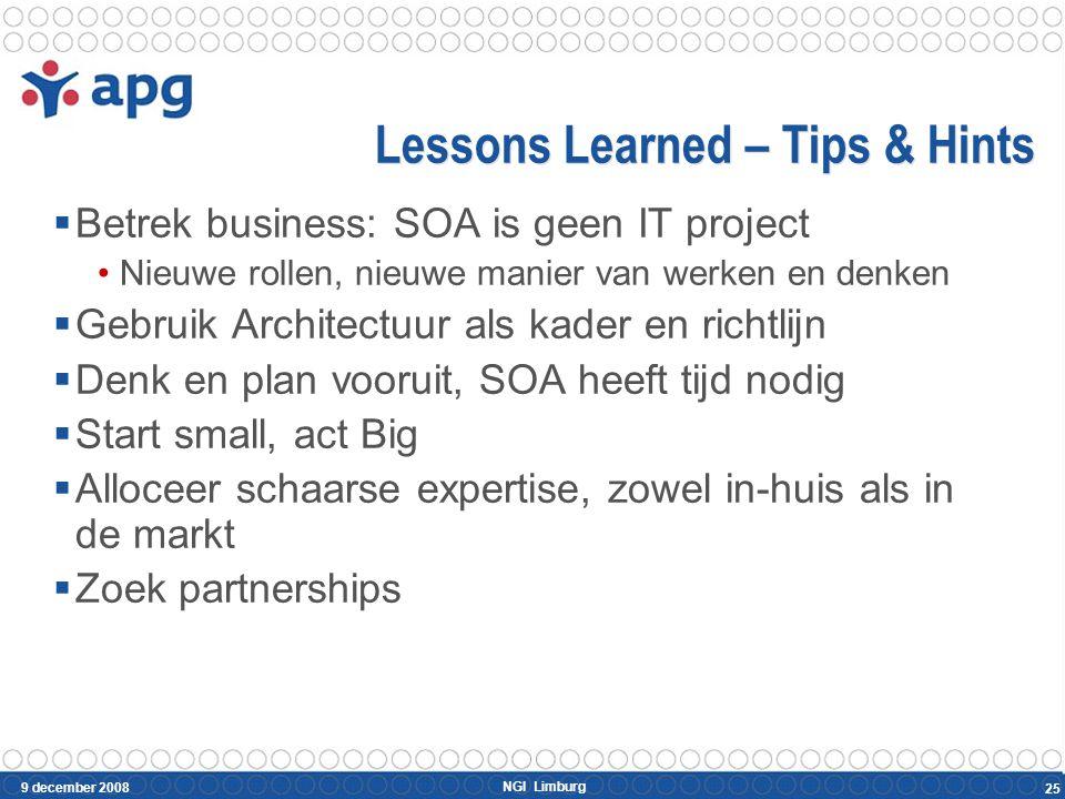 Conclusies SOA helpt APG met het realiseren van haar ambities