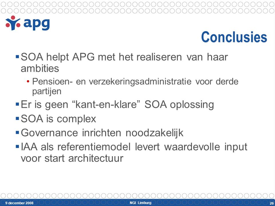 Bedankt Pierre Martens Email : pierre.martens@apg.nl