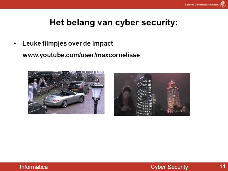 Het belang van cyber security: