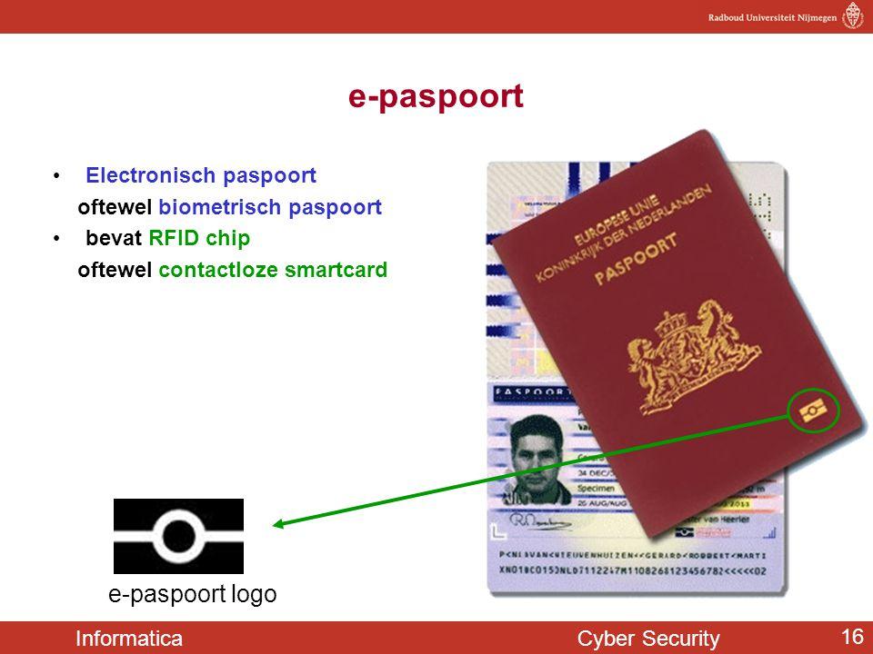 e-paspoort e-paspoort logo Electronisch paspoort