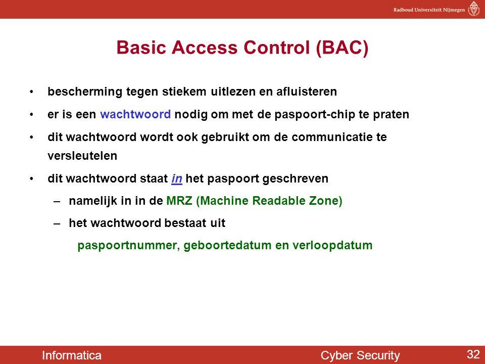 Basic Access Control (BAC)