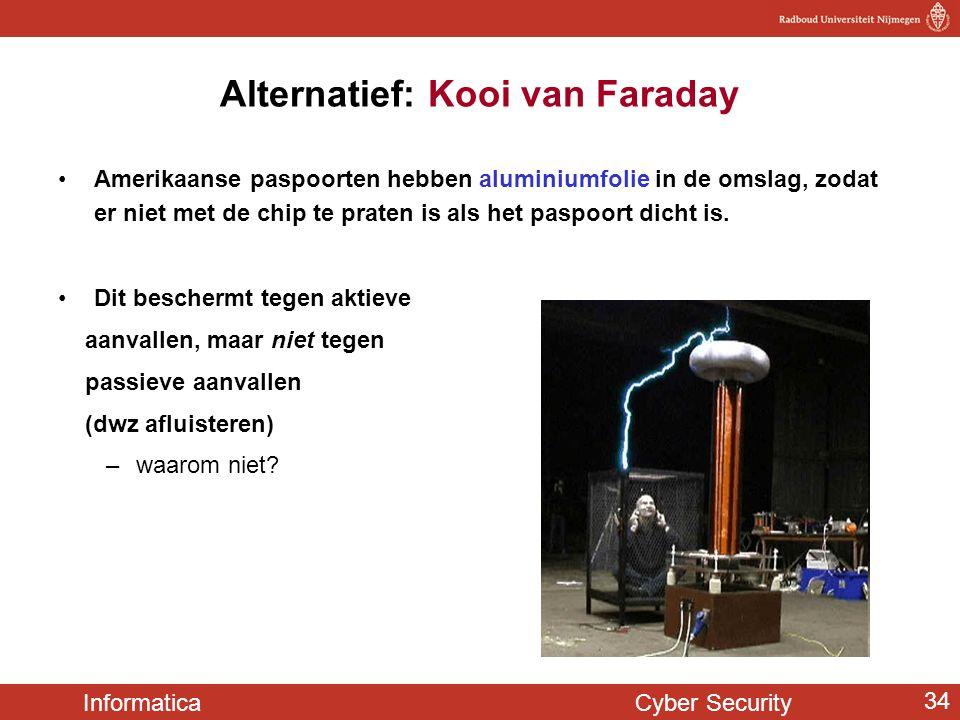 Alternatief: Kooi van Faraday