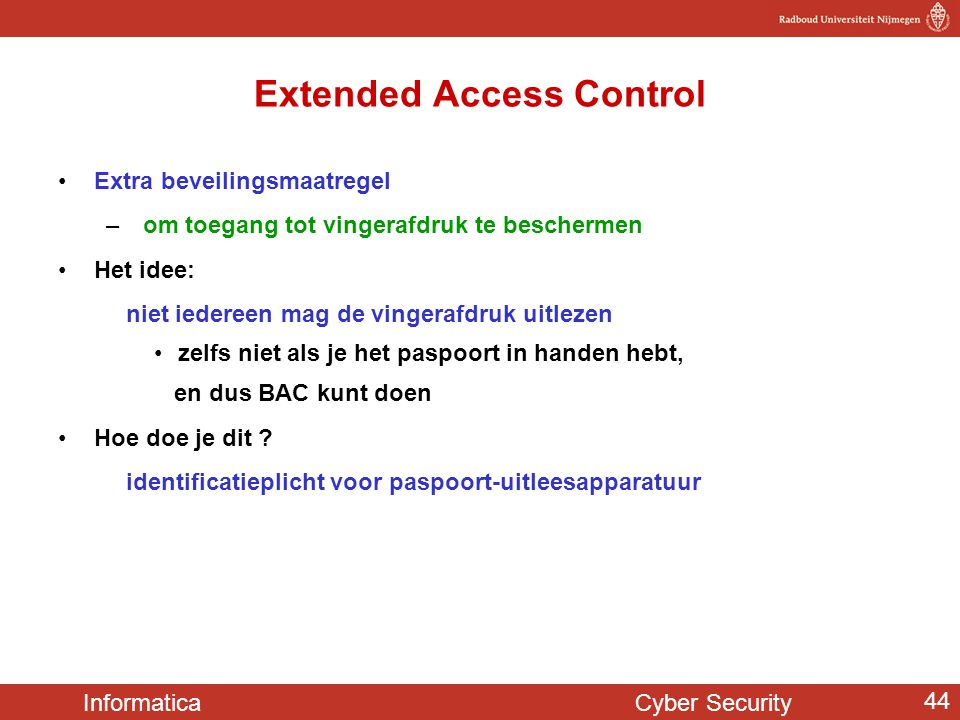 Extended Access Control