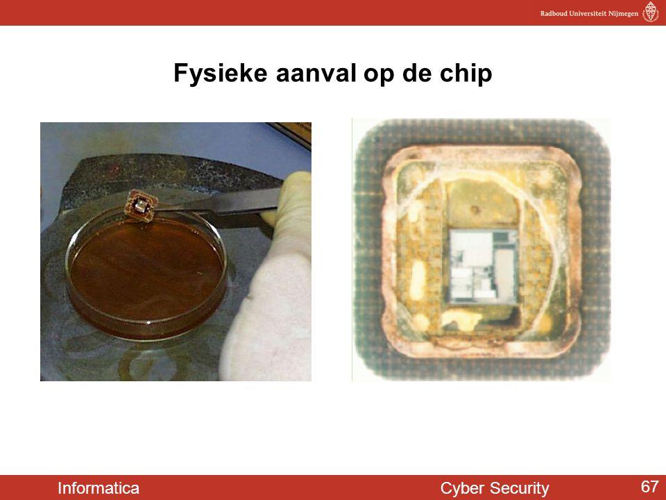 Fysieke aanval op de chip