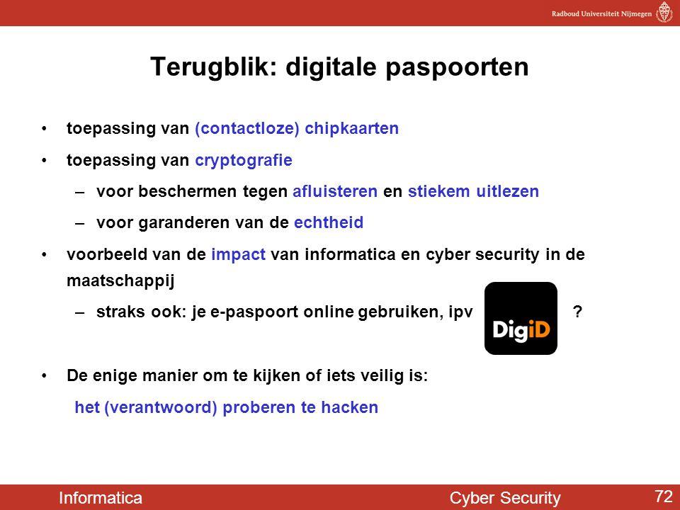 Terugblik: digitale paspoorten
