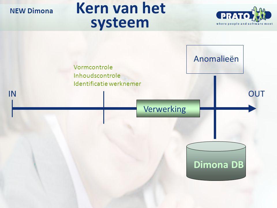 NEW Dimona Kern van het systeem