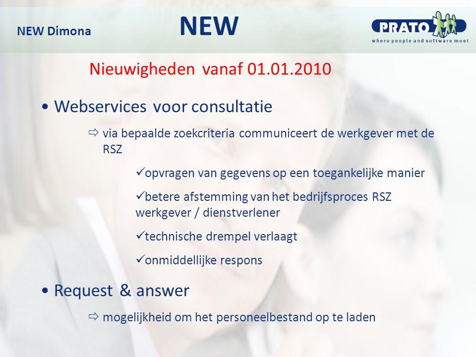 Webservices voor consultatie