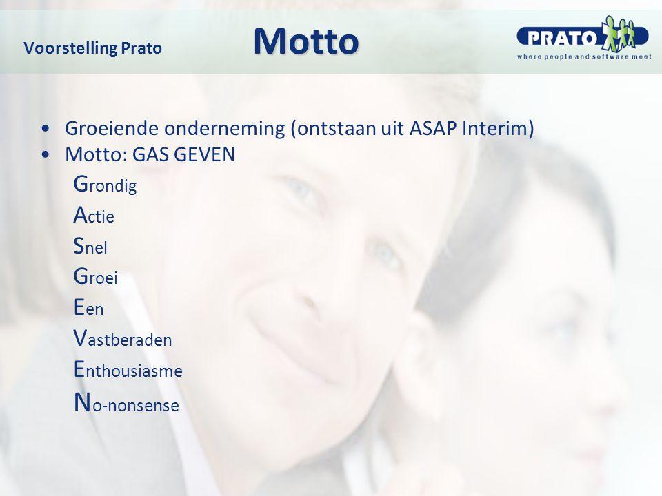 Voorstelling Prato Motto
