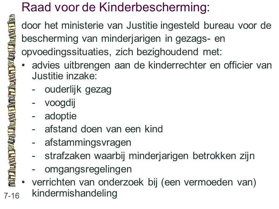 Raad voor de Kinderbescherming: