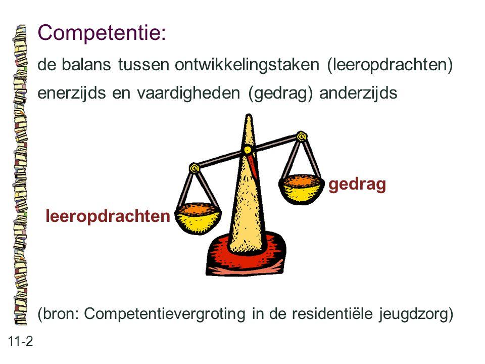 Competentie: de balans tussen ontwikkelingstaken (leeropdrachten)