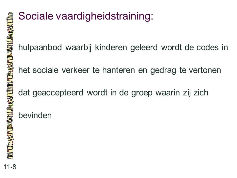 Sociale vaardigheidstraining: