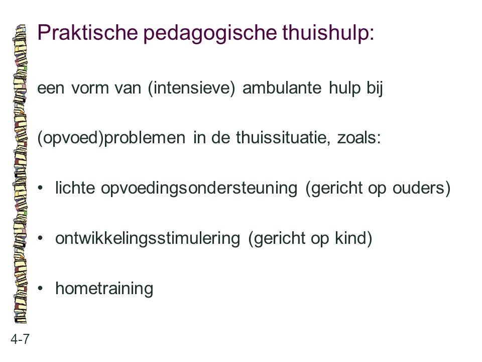 Praktische pedagogische thuishulp: