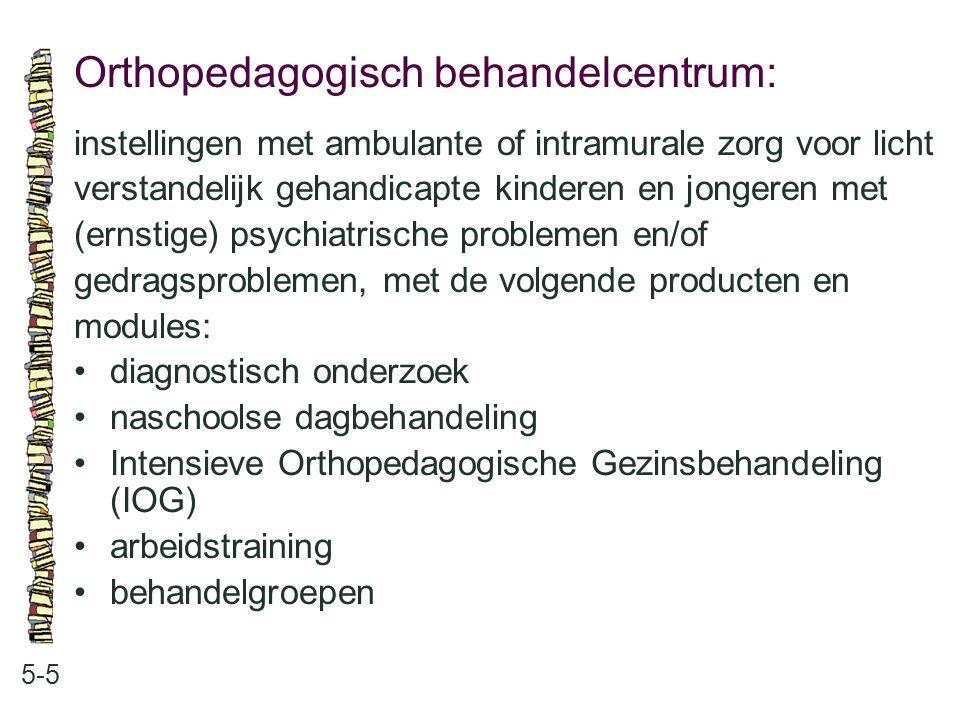 Orthopedagogisch behandelcentrum: