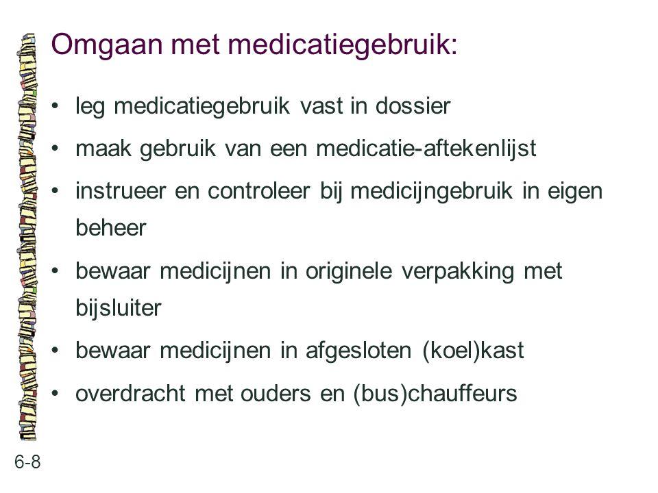 Omgaan met medicatiegebruik: