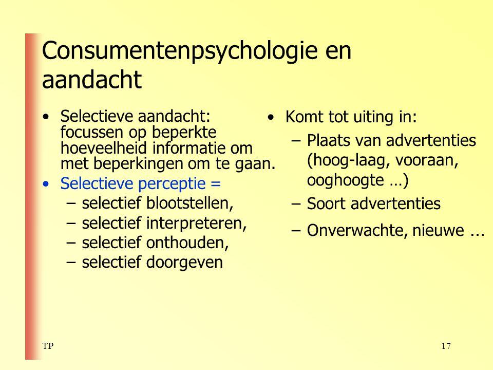 Consumentenpsychologie en aandacht