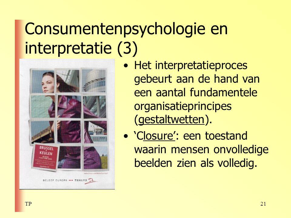 Consumentenpsychologie en interpretatie (3)