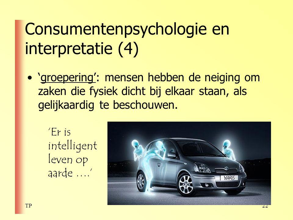 Consumentenpsychologie en interpretatie (4)