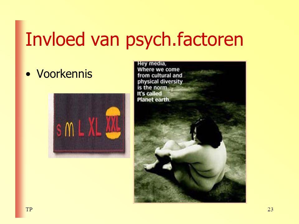 Invloed van psych.factoren
