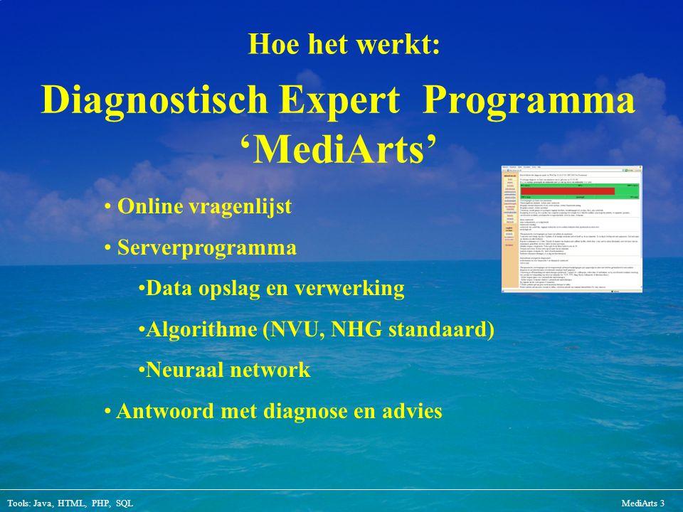 Diagnostisch Expert Programma 'MediArts'