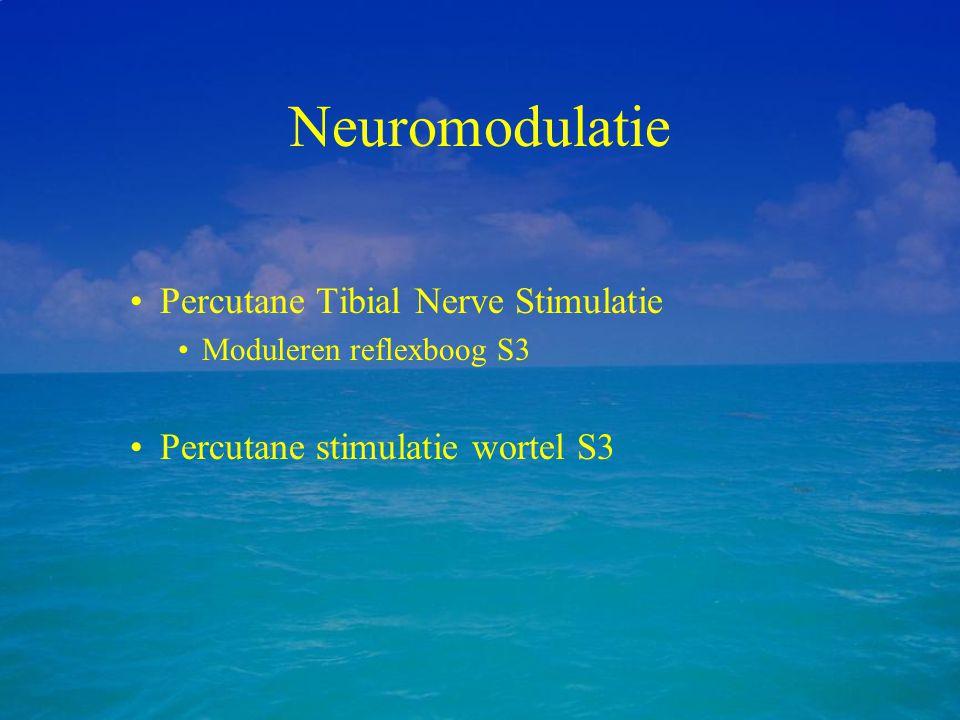 Neuromodulatie Percutane Tibial Nerve Stimulatie