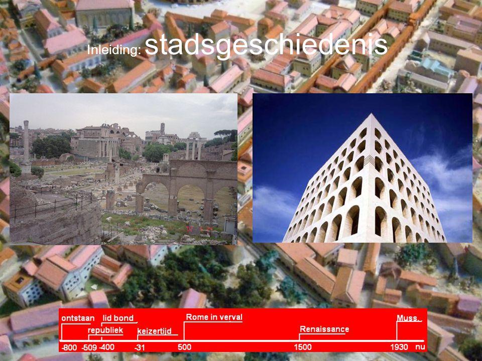 Inleiding: stadsgeschiedenis