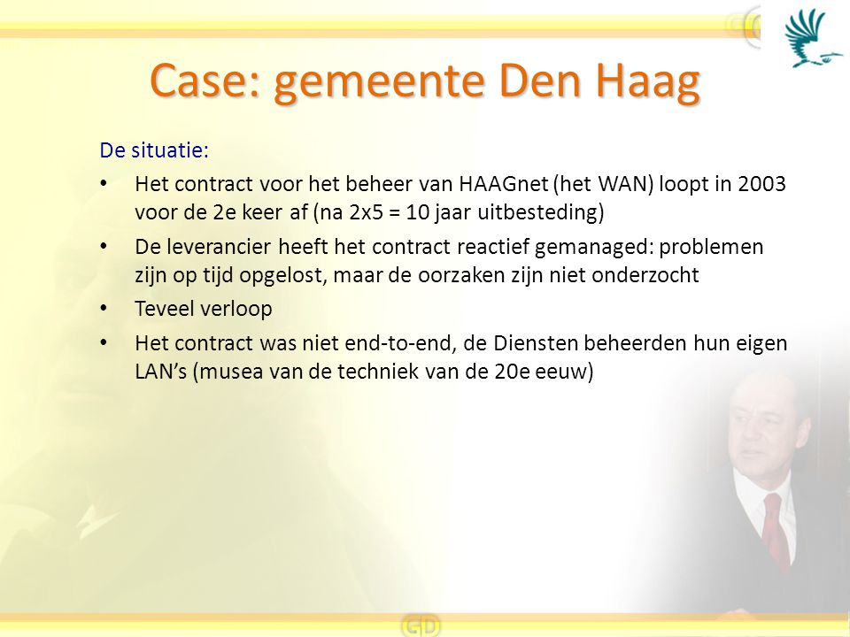 Case: gemeente Den Haag